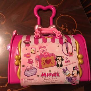 ディズニー(Disney)の新品 ミニー デイジー ペットキャリー フィガロ ディズニー(手押し車/カタカタ)