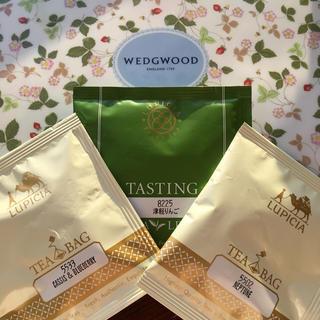 ウェッジウッド(WEDGWOOD)の【新品未開封】ウェッジウッド ワイルドストロベリー ティーバッグ LUPICIA(茶)