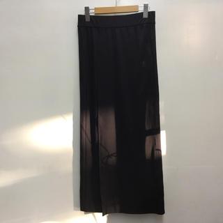 アディダス(adidas)のadidas originals ラップスカート 黒 アディダスオリジナルス (ロングスカート)