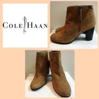 コールハーン(Cole Haan)の専用ページです♡コールハーン♡ブラウンスエード ブーティ♡(ブーティ)