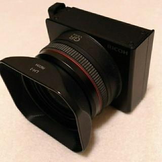 リコー(RICOH)のリコー GXR A12 28mm 美品 箱なし(レンズ(単焦点))