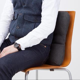 MUJI (無印良品) - 背当てクッション 腰当て 腰痛 デスクワーク