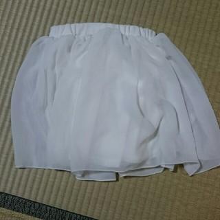 アコバ(Acoba)のシフォンスカート 120 さくさく様用(スカート)