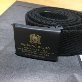 ネイバーフッド(NEIGHBORHOOD)の新品 14AW NEIGHBORHOOD GI/MA-BELT 黒(ベルト)