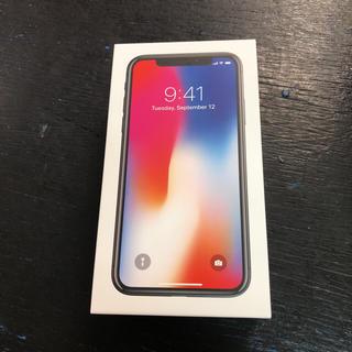 アイフォーン(iPhone)の超美品 ドコモ iPhonex 256gb MQC12J/A(スマートフォン本体)