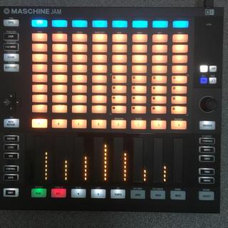 Maschine jam(MIDIコントローラー)
