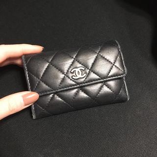 シャネル(CHANEL)のCHANEL♡キャビアスキン キルティング 財布♡(財布)