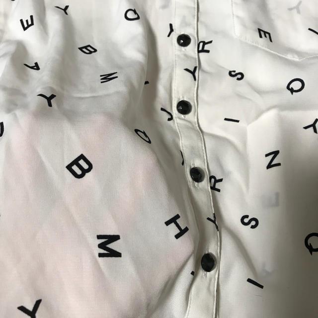 しまむら(シマムラ)のシフォンシャツ とろみシャツ  ZARA GU  キッズ/ベビー/マタニティのキッズ服 女の子用(90cm~)(ブラウス)の商品写真