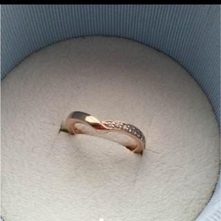 ヨンドシー(4℃)のカナル4℃ ピンキーリング 5号(リング(指輪))