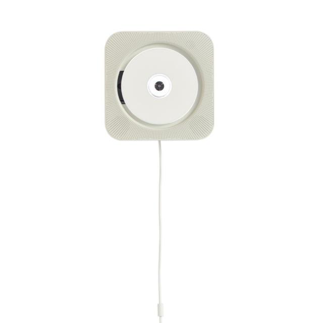 MUJI (無印良品)(ムジルシリョウヒン)の新品 無印良品 壁掛けCDプレーヤー スマホ/家電/カメラのオーディオ機器(ポータブルプレーヤー)の商品写真