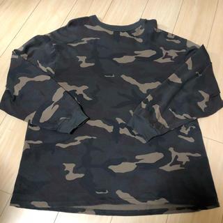 アディダス(adidas)のyeezy season 1 カモ ロングTシャツ(Tシャツ/カットソー(七分/長袖))