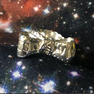 ヴィヴィアンウエストウッド(Vivienne Westwood)のボウリング silver925  sizeS(リング(指輪))