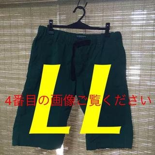 シマムラ(しまむら)のLL☆メンズハーフパンツ(グリーン)(ショートパンツ)