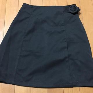 ワンアフターアナザーナイスクラップ(one after another NICE CLAUP)のナイスクラップ ラップ台形スカート(ミニスカート)