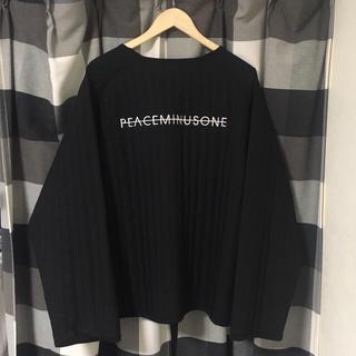 ピースマイナスワン(PEACEMINUSONE)のPMO PADDED PULLOVER #1   peaceminusone (スウェット)