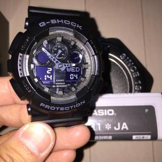 値下交渉可 GA100 迷彩 カモフラ 新品 未使用 ブラック Gショック(腕時計(デジタル))