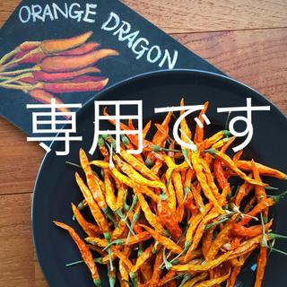 たの様専用☆唐辛子☆オレンジドラゴン(野菜)