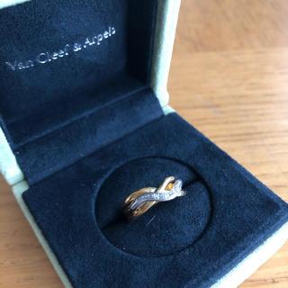 ブルームーン様専用ジュエリーブティック購入 k18 ダイヤモンド (リング(指輪))