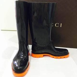 グッチ(Gucci)のグッチ レインブーツ オマケ付き(レインブーツ/長靴)
