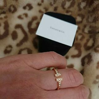 ティファニー(Tiffany & Co.)の祭日セール❤️ティファニー☆Tワイヤーダイヤモンドリング✨美品✨(リング(指輪))