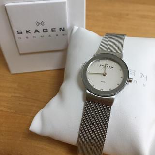 スカーゲン(SKAGEN)のとまと様専用 スカーゲン SKAGEN レディース腕時計 STEEL シルバー(腕時計)