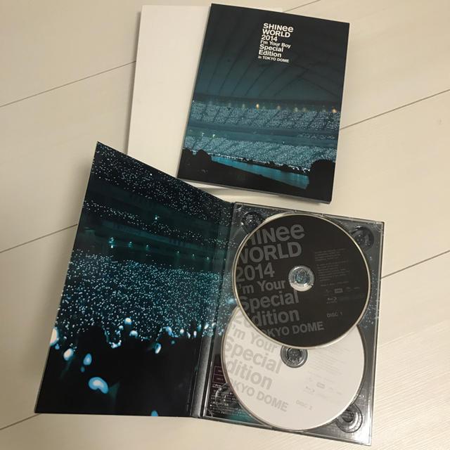 SHINee(シャイニー)のSHINee シャイニー I'm Your Boy Blu-ray 初回限定 エンタメ/ホビーのCD(K-POP/アジア)の商品写真