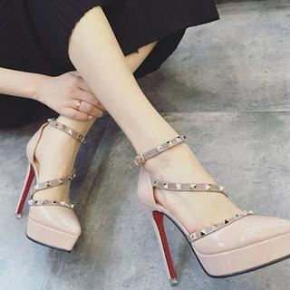 高品質人気女性ブーツパンプス送料無料441(ハイヒール/パンプス)