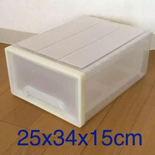 ムジルシリョウヒン(MUJI (無印良品))の無印良品 プラスチックケース