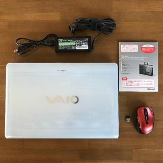 ソニー(SONY)のこくわがた様専用 ソニー ノートパソコン VAIO VPCEB39FJ/W(ノートPC)