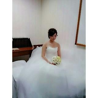ヴェラウォン(Vera Wang)のヴェラウォンstyleチュール5層 ウェディングドレス (ウェディングドレス)