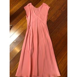 ザラ(ZARA)のほぼ新品のまま!美品!ロングドレス、結婚式用、パーティー用、ピンク、フォーマル(ロングドレス)