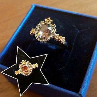 スワロフスキー(SWAROVSKI)の星のスワロフスキーリング(リング(指輪))