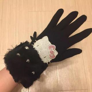 サンリオ(サンリオ)の最終値下‼︎【新品タグ付き】ハローキティ 大人用手袋❤︎(手袋)