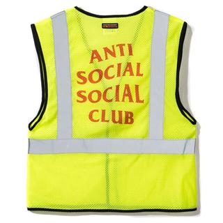 アンチ(ANTI)のANTI SOCIAL SOCIAL CULB LIT VEST アンチ リット(ベスト)
