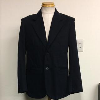 アニエスベー(agnes b.)のアニエスベー ジャケット サイズ48 黒(テーラードジャケット)
