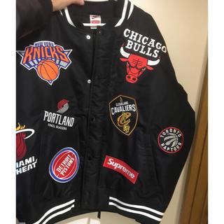 シュプリーム(Supreme)のH. KENTA様専用 supreme NBA NIKE jacket Lサイズ(スタジャン)
