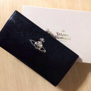 ヴィヴィアンウエストウッド(Vivienne Westwood)のEXECUTIVE がま口長財布 黒(財布)