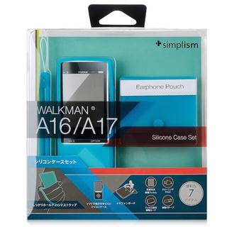 ウォークマン(WALKMAN)の59 ウォークマンA10/20シリーズ用 青 ケース TR-SCWMA14-BL(ポータブルプレーヤー)