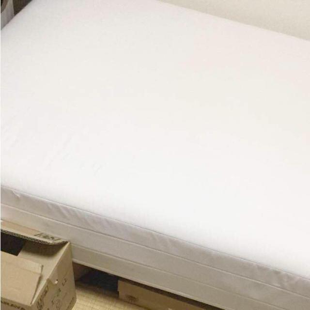 MUJI (無印良品)(ムジルシリョウヒン)の無印良品 シングルベッド MUJI ニトリ  インテリア/住まい/日用品のベッド/マットレス(シングルベッド)の商品写真