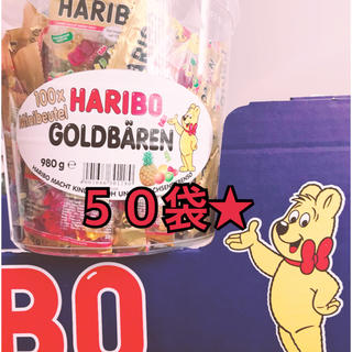 ハリボーグミ  ʕ•ᴥ•ʔ  235袋  小分けパック(菓子/デザート)