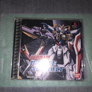 プレイステーション(PlayStation)のPS1 ガンダム バトルアサルト(家庭用ゲームソフト)