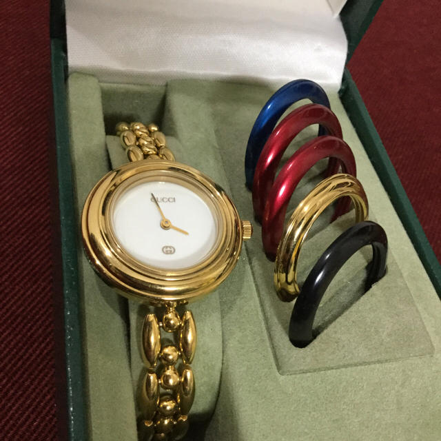 hot sale online a1636 4747e GUCCI グッチ チェンジベゼル 腕時計 正規品
