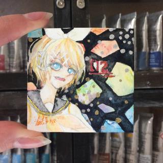 【ミニ原画】 鏡音リン / 02(イラスト集/原画集)