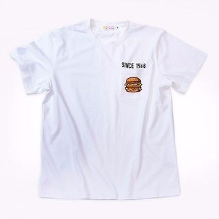 ビームス(BEAMS)の300着限定 マクドナルド×BEAMS DESIGN限定ユニセックスTシャツ S(その他)