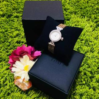 フォクシー(FOXEY)の新品フォクシー❤︎ジュエルウォッチ ブレスレット腕時計(腕時計)