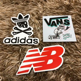アディダス(adidas)のadidas.vans.NB ステッカーセット(しおり/ステッカー)