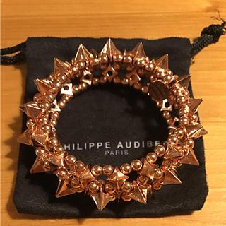 フィリップオーディベール(Philippe Audibert)の美品 PHILIPPE AUDIBERT フィリップオーディベール(ブレスレット/バングル)