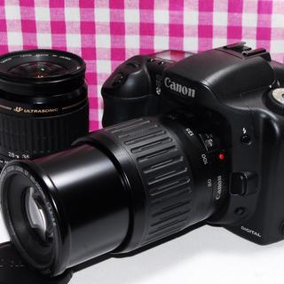 キヤノン(Canon)の❤️相棒と出かけよう❤️ Canon EOS 10D 大迫力のダブルズームキット(デジタル一眼)