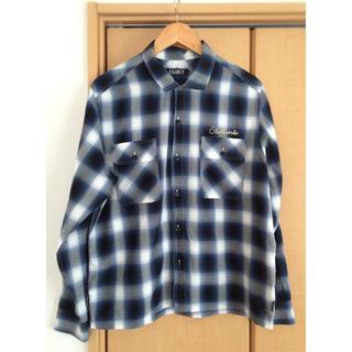 クラクト(CLUCT)の美品 CLUCT クラクト チェックシャツ (シャツ)