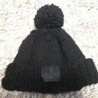 ヴィヴィアンウエストウッド(Vivienne Westwood)のヴィヴィアン♡ロゴニット帽(ニット帽/ビーニー)